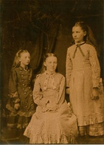 Carrie, Mary and Laura Ingalls
