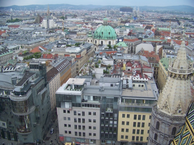 Vienna from Stephansdom