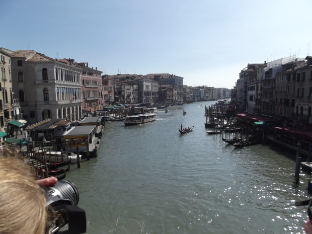 Grand canal from Realto