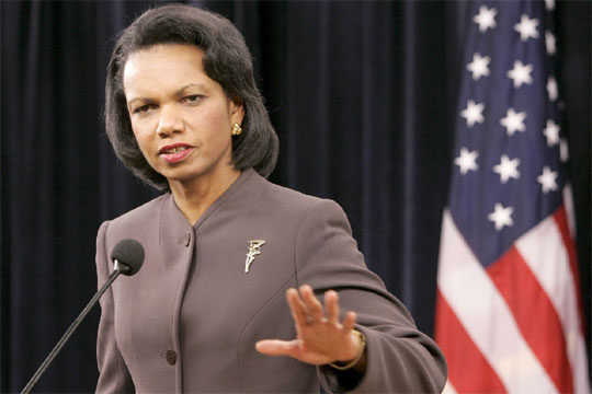 rice1 Condoleezza Rice: Iraq Invasion Inspired Arab Spring