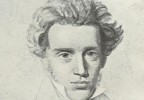 Danish Christian Existentialist Soren Kierkegaard