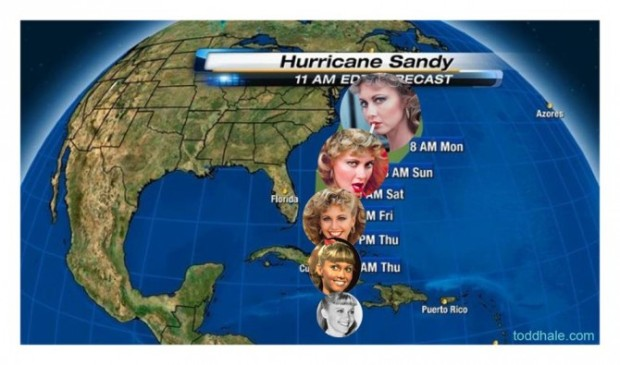 "Make ""Sandy"" a word meaning action"