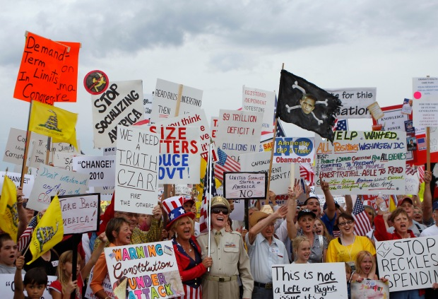 The tea party anger of 2010 may have been the last gasp of a dying movement