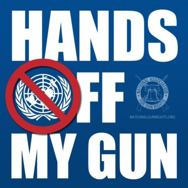 The NRA's claim the UN wants to come get our guns is the height of delusion