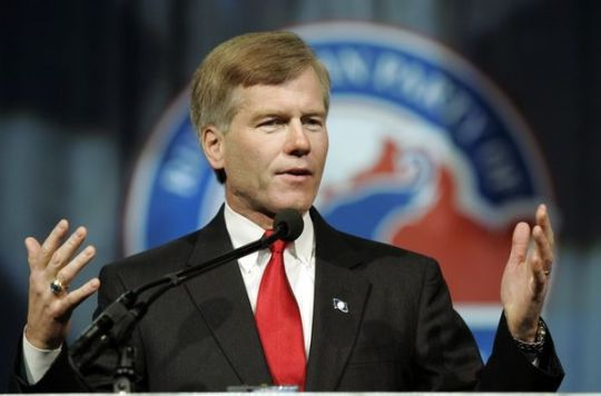 Virigina's Republican Governor Bob McDonnell nixed the plan - for now.