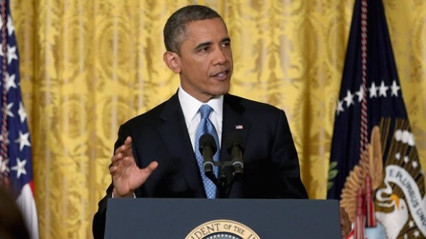 In a long press conference President Obama definitively ruled out negotiations over the debt ceiling