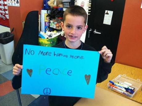 Eight year old Martin Richard was one of the fatalities