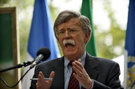 Former UN Ambassador John Bolton claims Obama is weakening the Presidency by going to Congress
