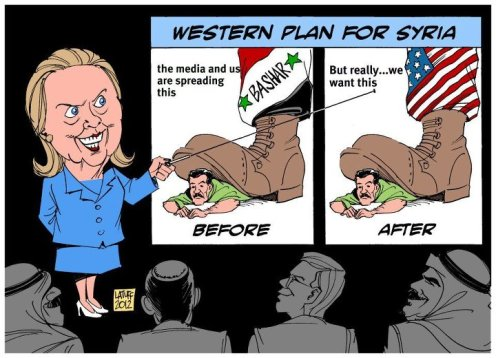 Hillary is no longer Secretary of State, but many fear US military action is more likely to harm Syrians than help