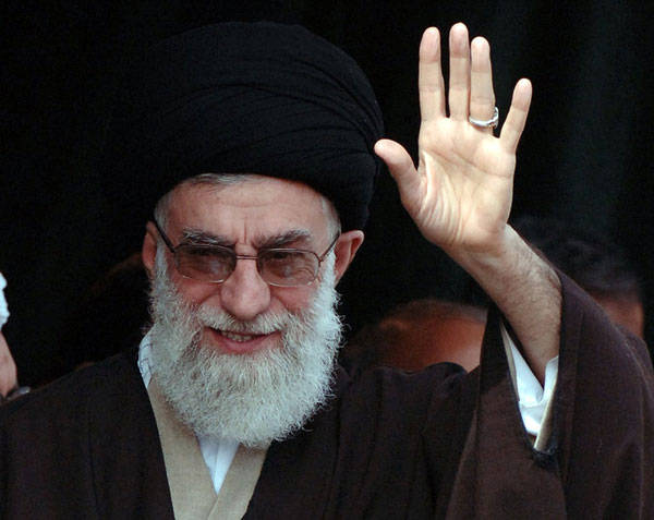 Ayatollah Khamanei, Iran's Supreme Leader, still holds most of the power