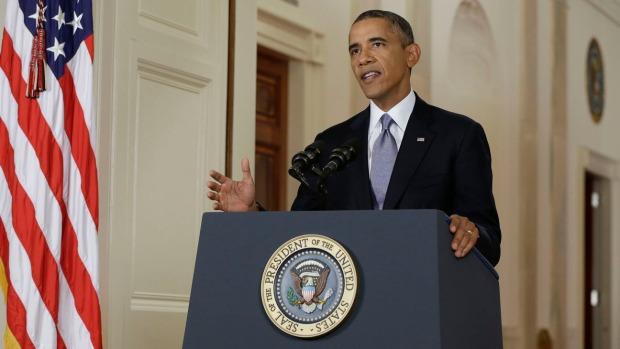 The President addresses the nation on September 10, 2013