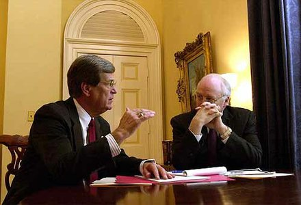 Trent Lott and Dick Cheney threatened to eliminate the filibuster when the Democrats abused it.