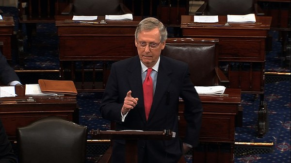 Mitch McConnell once filibustered his own motion!