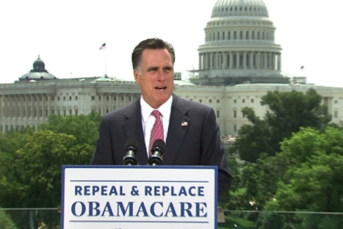 Repealing and replacing Obamacare was a key component of Romney's failed Presidential bid