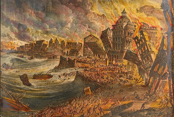 On November 1, 1755, Lisbon suffered a massive earthquake