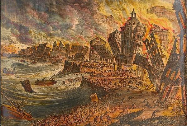 On November 1, 1755, Lisbon suffered a massive earthquake