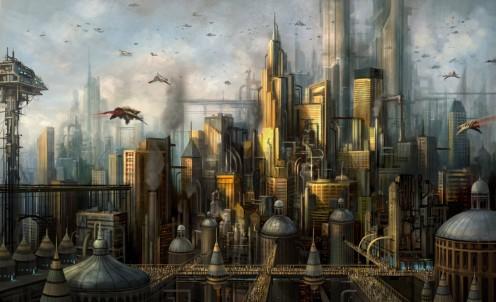 Will our future be megapolis life, artificially produced and engineered?