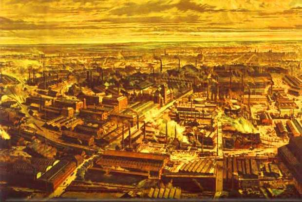 With the industrial revolution humans (workers) ceased to be seen as individuals with worth, but as objects; simply means to an economic end