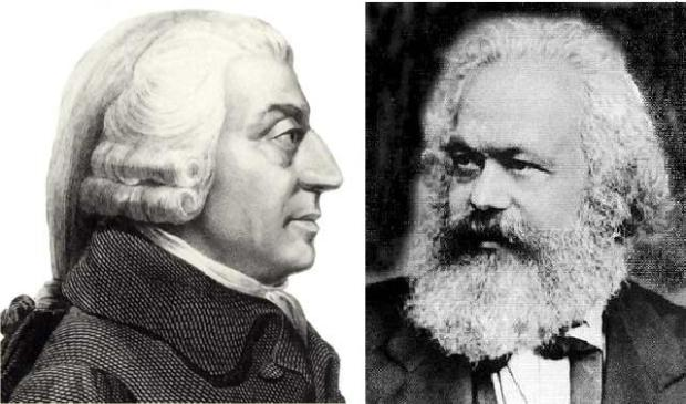 Count Karl Marx as one of Adam Smith's fans!