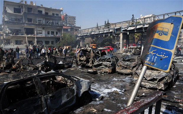 Carnage and destruction continue unabated in Syria