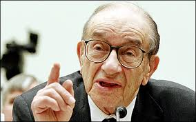 Once considered an economic guru, Greenspan's cheap credit and anti-regulatory stance now make him a villain in this story