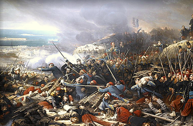 "The 1854-55 Crimean War is remembered as a military disaster, even if it did yield the Red Cross and ""the charge of the light brigade"""