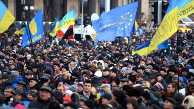 In early December protests started after Yanukovych announced there would be no deal with the EU