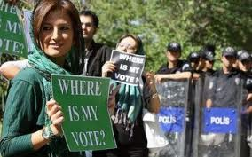 After the 2009 elections Iranians took to the street to protest the result; in 2013 a moderate was elected President