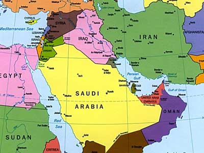 Iran has four times the population, a stronger military and a more modern economy than Saudi Arabia