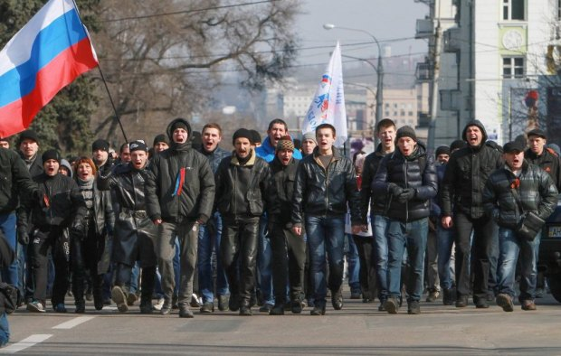 Pro-Russian protesters are gaining strength in eastern Ukraine