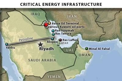 Hitting any of these oil ports, especially Ros Tanura, could be devastating to the world economy