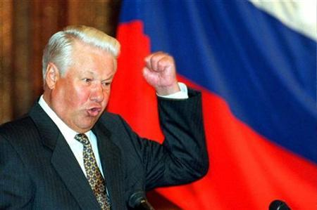 Yeltsin wanted a democratic market economy - what he got was out of control corruption and a parasitic oligarchy