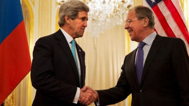 Secretary of State John Kerry and Russian Foreign Minister Sergey Lavrov make progress