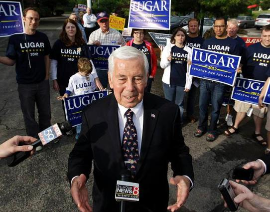 When the tea party downed Senator Lugar in the primary, they handed a certain Republican seat to a Democrat