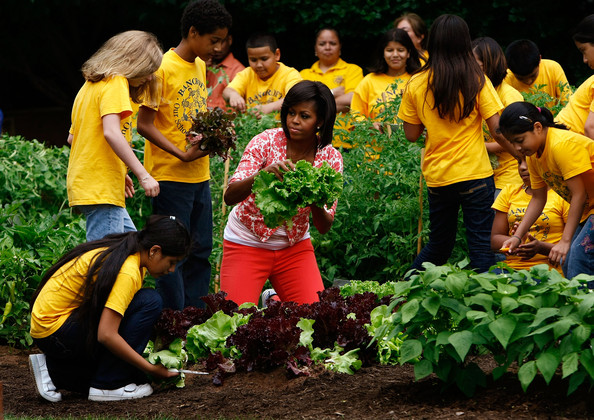 At time when child obesity threatens both the health system and young people's future, Michelle Obama's focus on nutrition is a needed shift in thinking