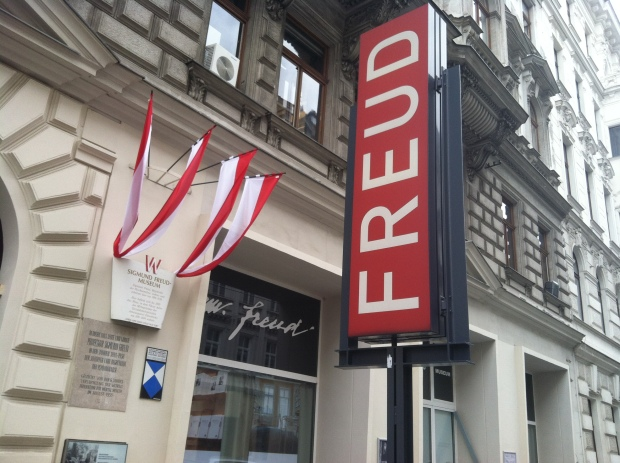 We visited the Freud museum, located where he lived in Vienna until finally leaving in 1938.  We discussed his experiences as well as the impact of his theories on psychology and politics.