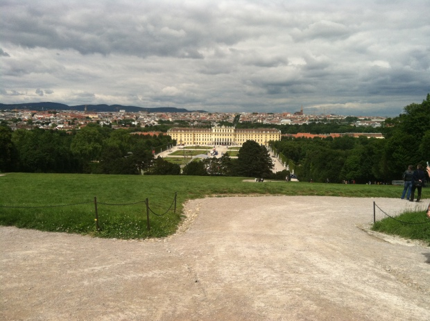Schoenbrunn, the summer palace of the Hapsburg Emperors