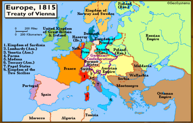 The treaty of Vienna did lead to 100 years of relative peace in Europe - though arguably that was because the Europeans were conquering the planet via colonialism