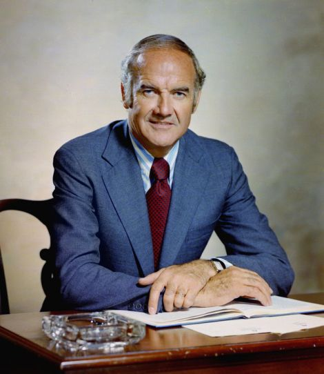 South Dakota's George McGovern was seen as way too liberal for southern Democrats, speeding a shift in the south to the GOP