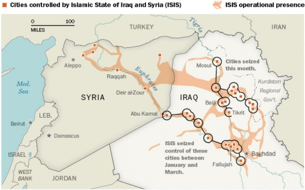 The ISIS was founded in response to the US invasion of Iraq in 2003