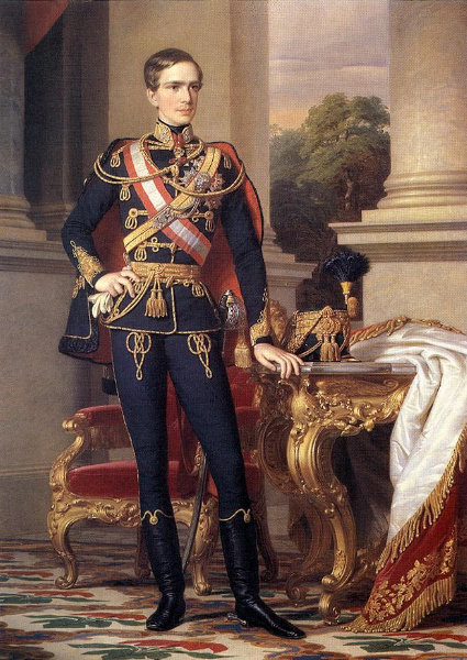 At 23, Franz Joseph had been Emperor for five years, and Austria seemed to be a dominant European power