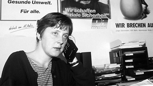 In 1990 Merkel would start as deputy premier of the last East German government, then join Kohl's first united Germany government as a minor cabinet member