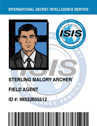 In the future when I think of ISIS, I wanted to think of Archer!