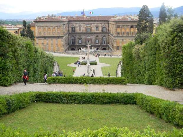 So glad the Boboli gardens were free when I was there - it was a perfect place to read, study, people watch and eat gelato -- a short train ride from Bologna