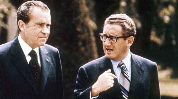 Nixon and Kissinger would change the world - and arguably set up the peaceful end of the Cold War