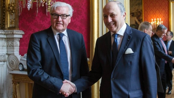 If a peaceful resolution to the Ukraine crisis is to be found, German and French Foreign Ministers Walter Frank Steinmeier and Laurent Fabius will receive much of the credit