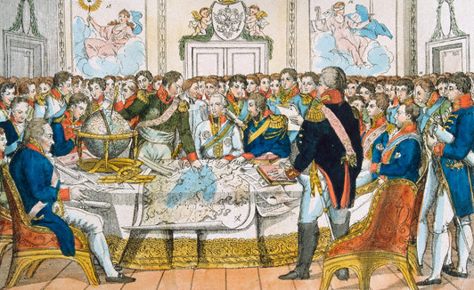 Metternich presided over the Congress of Vienna in 1814-15, creating the European system realists like Kissinger admire