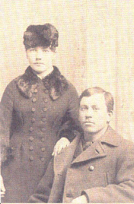 Laura and her husband Almanzo