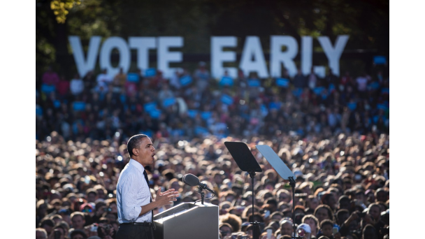 Early voting suggests that turn out will be very good in places with close contests