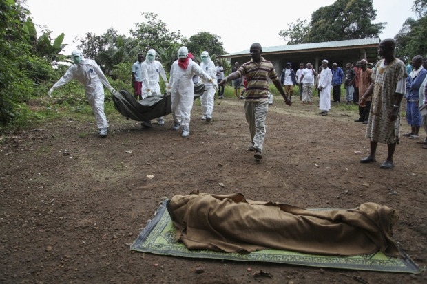To avoid a real threat from Ebola, we have to fight it where it is now virulent - in Sierra Leone, Liberia and Guinea